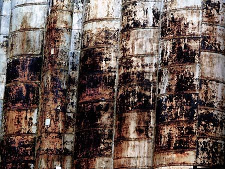 Industrial Photograph - Rust by Alastair  MacKay