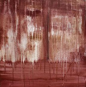 Abstract Painting - Rust by Alli Royce Soble