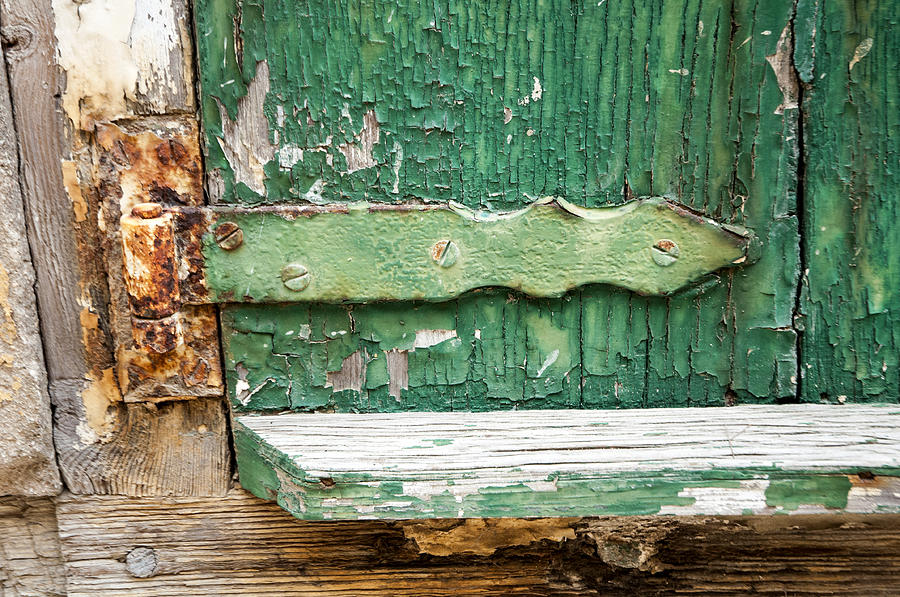 Rust And Paint Photograph