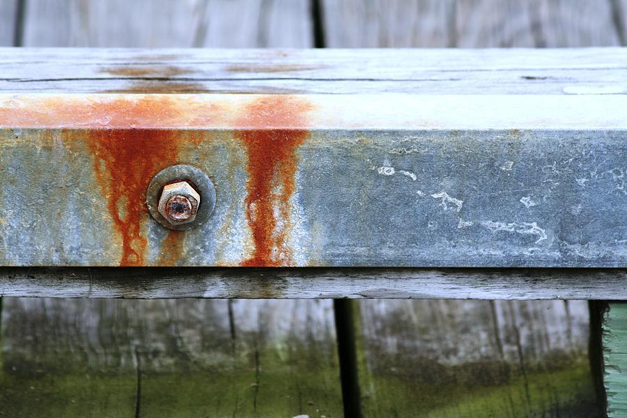 Patina Photograph - Rust by David S Reynolds