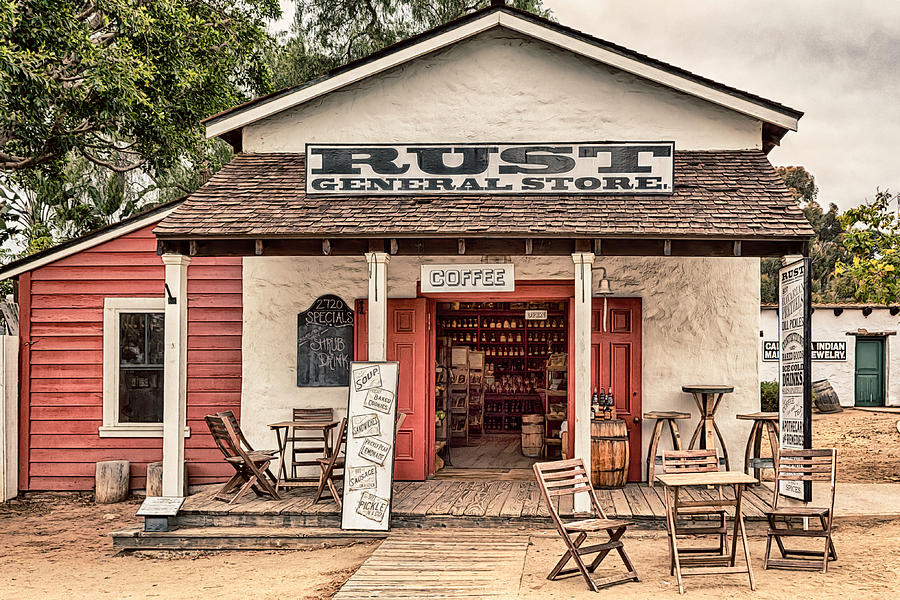 Rust General Store by Alison Frank