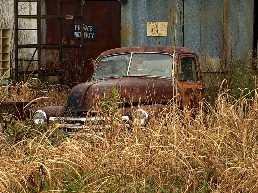Truck Photograph - Rust In Peace by Frank TuttPutt Tuttle