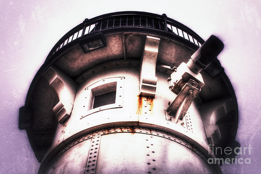 Lighthouse Photograph - Rusted Beacon by Ever-Curious Photography