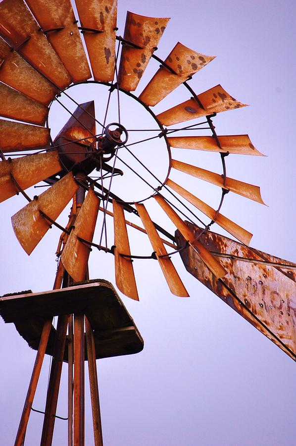 Windmill Photograph - Rusted In The Past by Jame Hayes