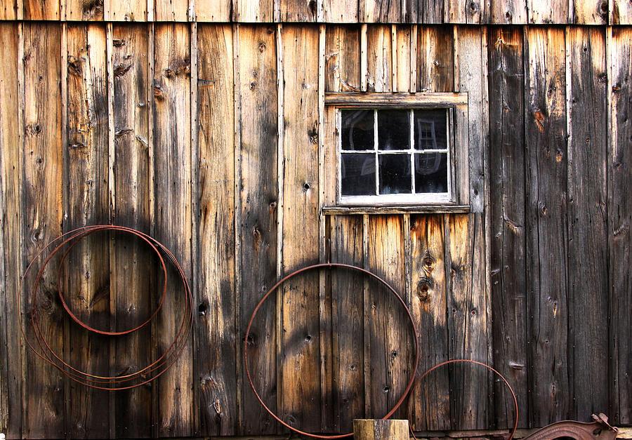 Barn Photograph - Rustic America by Marlana Holsten