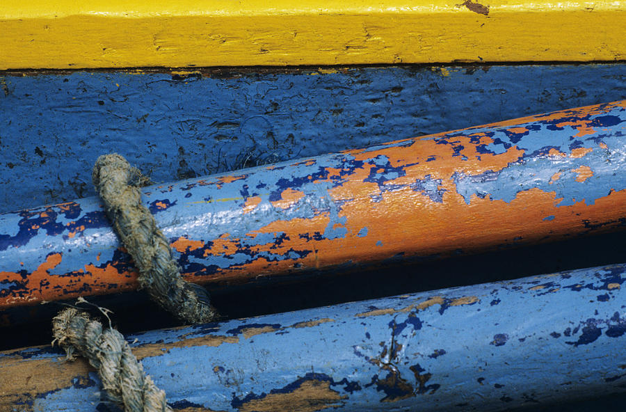 Abstract Photograph - Rustic Boat by Larry Dale Gordon - Printscapes