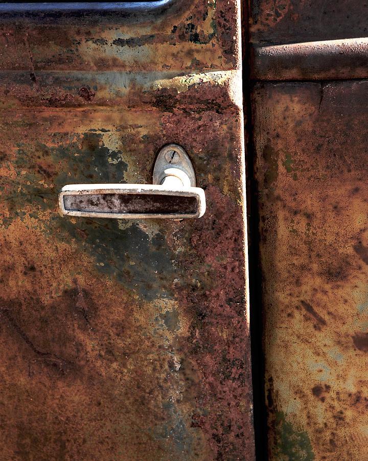 Car Photograph - Rustic by Bryan Steffy
