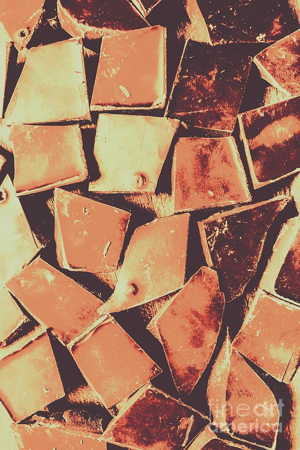 Chocolate Photograph - Rustic Choc Block by Jorgo Photography - Wall Art Gallery