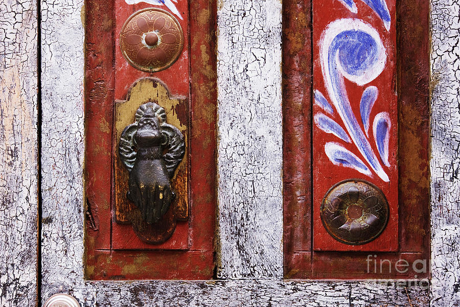 Architectural Detail Photograph - Rustic Door by Jeremy Woodhouse