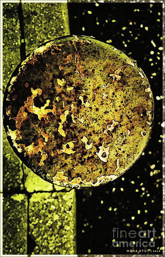 Rustic Green Universe Photograph