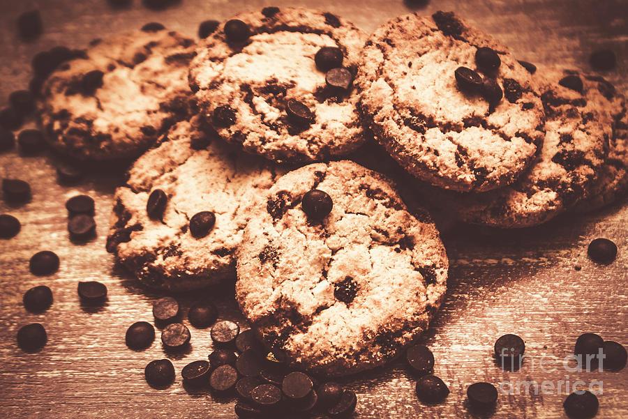 Dessert Photograph - Rustic Kitchen Cookie Art by Jorgo Photography - Wall Art Gallery