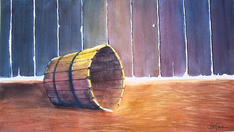 Still Life Painting - Rustic Memoirs by Charles Falk Jr