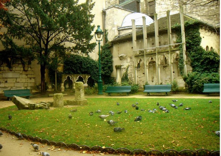 Rustic Paris Scape Photograph