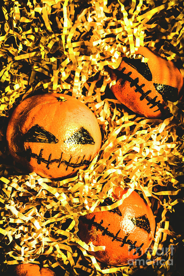 Halloween Photograph - Rustic Rural Halloween Pumpkins by Jorgo Photography - Wall Art Gallery