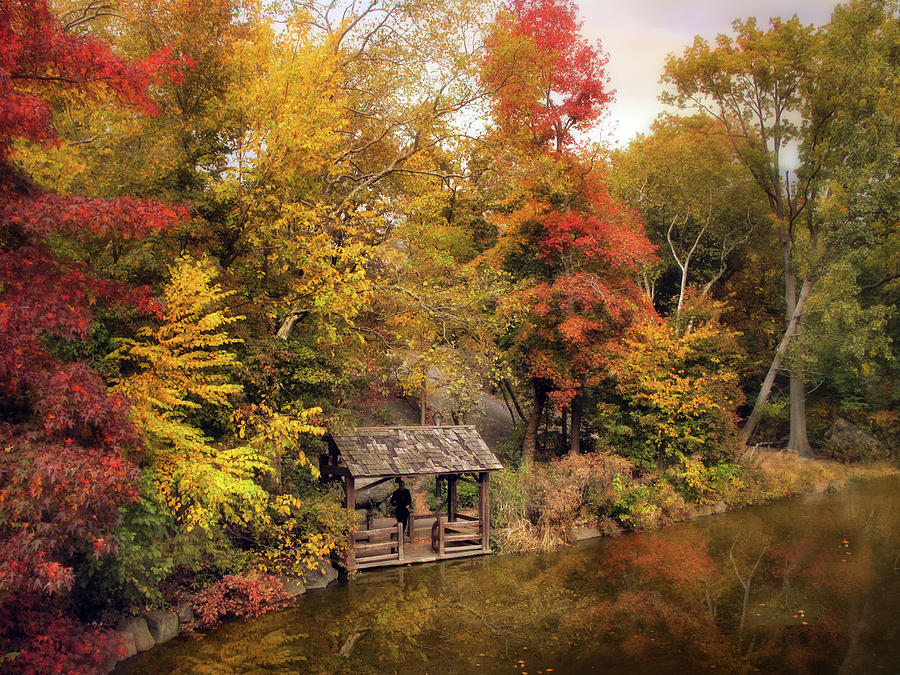 Autumn Photograph - Rustic Splendor by Jessica Jenney