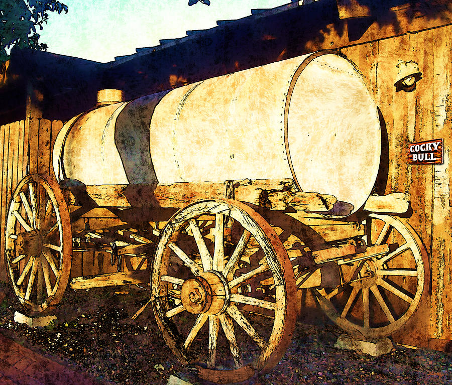 Water Tanker Photograph - Rustic Warrior by Glenn McCarthy Art and Photography