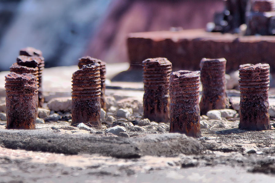 Rusting Bolts by Gordon Elwell
