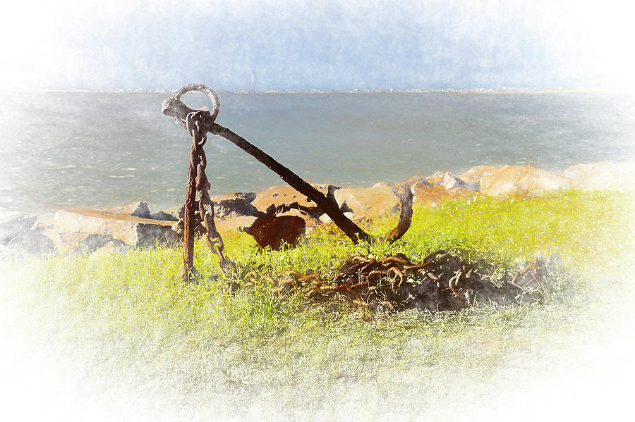 Rusty Anchor by Bill Barber
