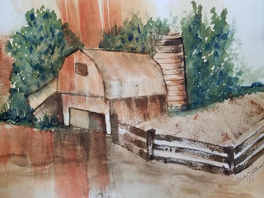 Rusty Barn by Elise Boam