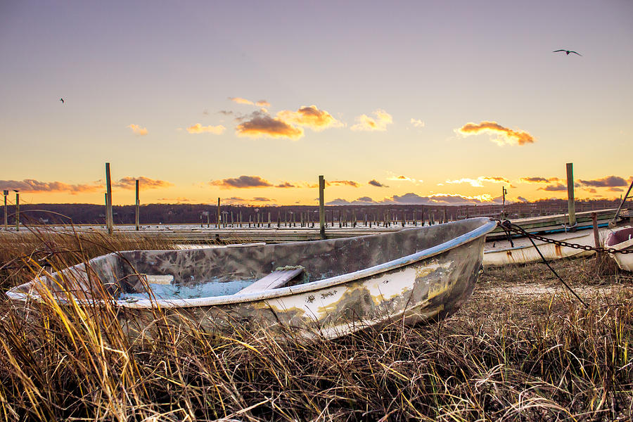 Rusty Photograph - Rusty Boat by Roderick Breem