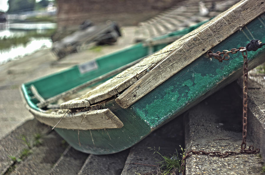 Rusty Boat Photograph