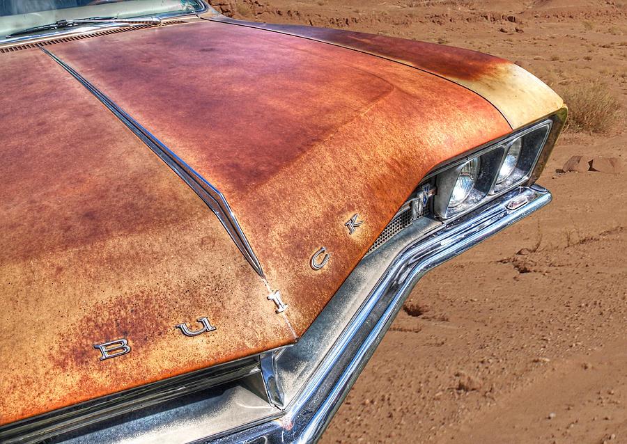Buick Photograph - Rusty Buick by Gill Billington