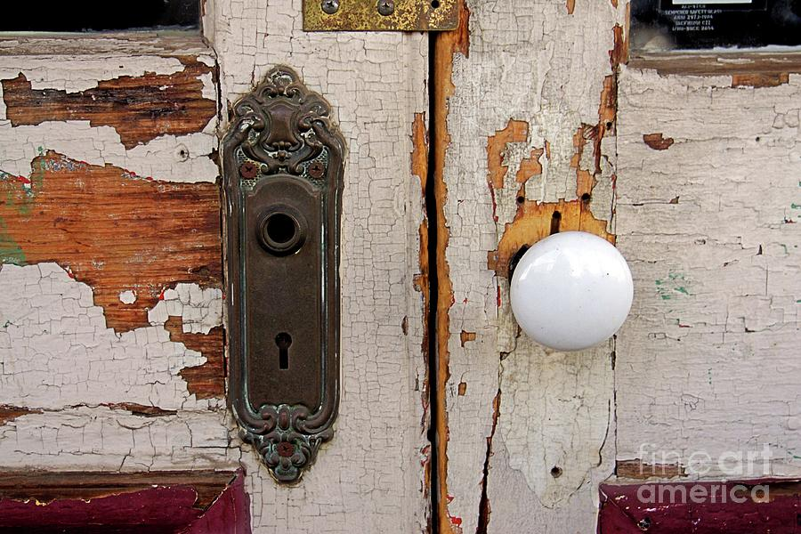 Virginia City Photograph - Rusty Crusty Door by Patricia Strand