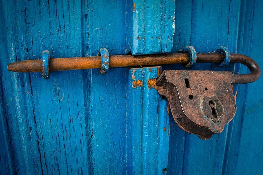 Rusty Lock by Gary Smith