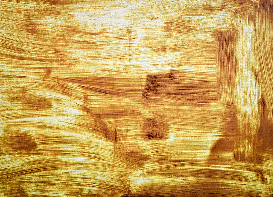 Rustic Photograph - Rusty Sheet Metal Coating by Jozef Jankola