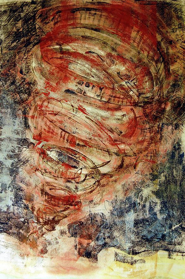 Tornado Painting - Rusty Tornado by Jame Hayes
