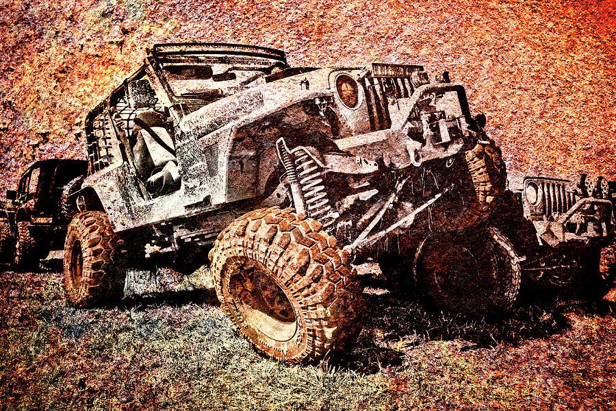 Jeep Photograph - Rusty Wrangler by Luke Moore