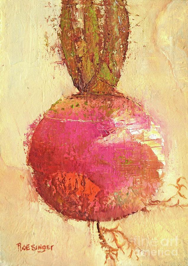 Rutabaga Painting - Rutabaga by Paint Box Studio