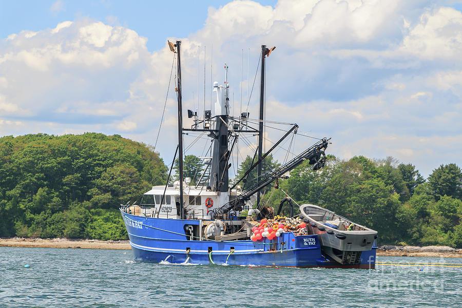 Ruth And Pat Deep Sea Fishing Vessel Photograph