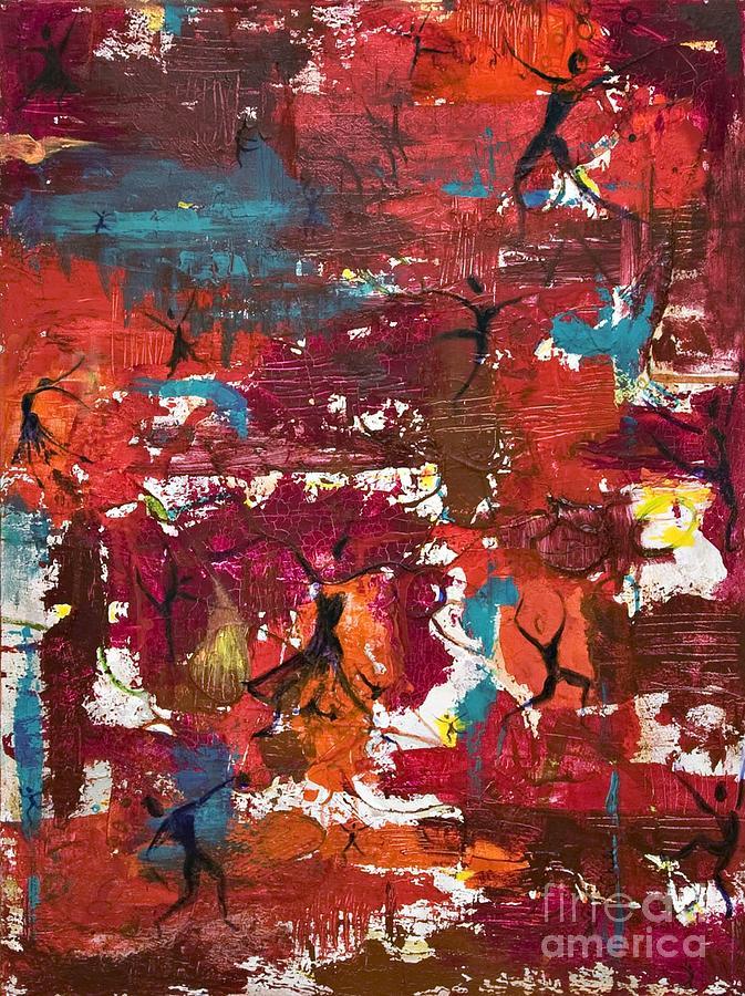 Rw Dance Painting by Sabra Chili