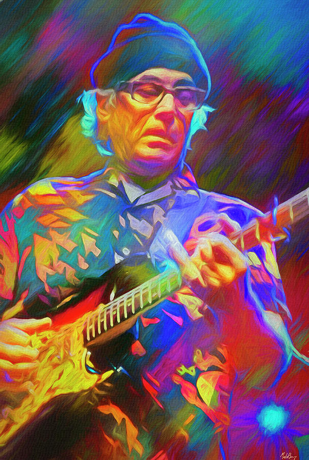Ry Cooder American Musician Mixed Media
