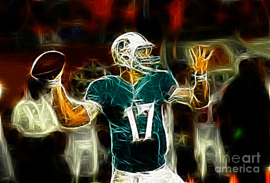 Ryan Tannehill Photograph - Ryan Tannehill - Miami Dolphin Quarterback by Paul Ward