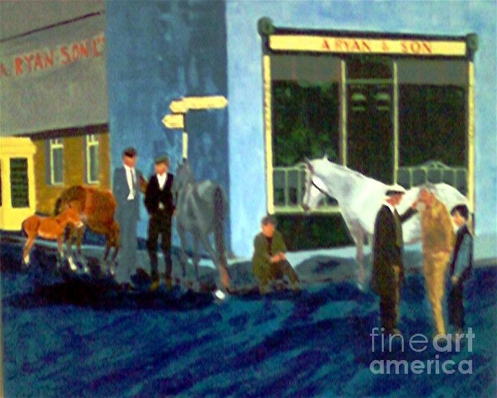 Ireland Painting - Ryans In Ireland by Karen Francis