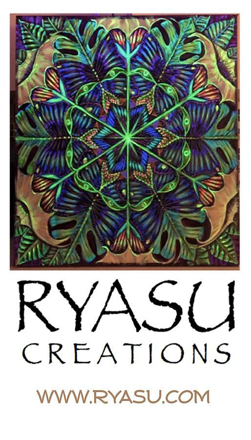 Logo Painting - Ryasu Logo by Sue Beck-Ryan