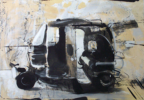 Car Painting - Ryksa by Mikolaj Obrycki