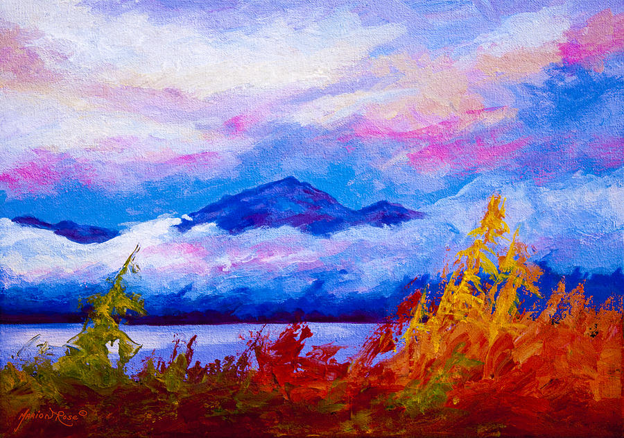 Alaska Painting - Rythmn Of The Arctic by Marion Rose