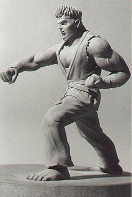 Ryu- Streetfighter Sculpture by Steve Howarth