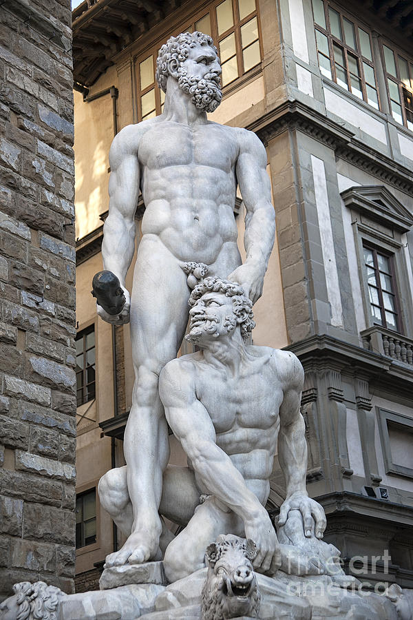 Marble Photograph - S 43 Hercules, Florence by Norberto Torriente