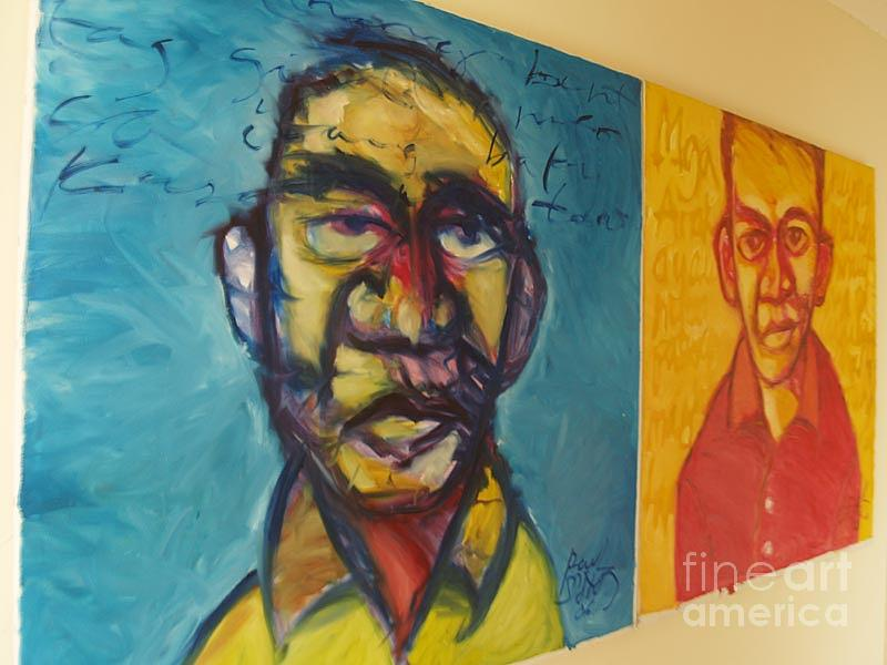 Expressionism Painting - Sa Ilang Mga Nawong - In Their Faces Series by Paul Corpus