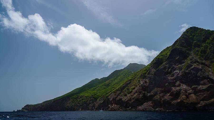 Saba Photograph - Saba Island by Andriy Zolotoiy