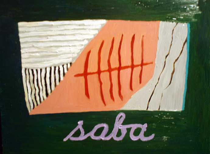 Colorful Painting - Saba by Patrice Tullai