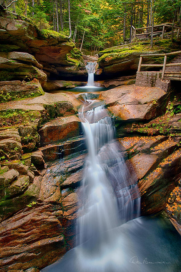 Sabbaday Falls 8896 Photograph