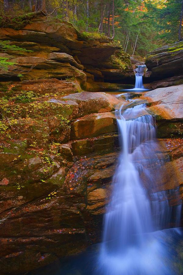 Sabbaday Falls New Hampshire Photograph By Jim Dohms