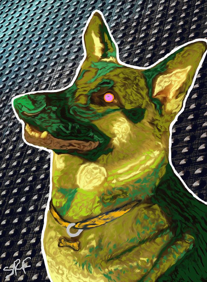 Canine Photograph - Sabeast by Savannah Fonner