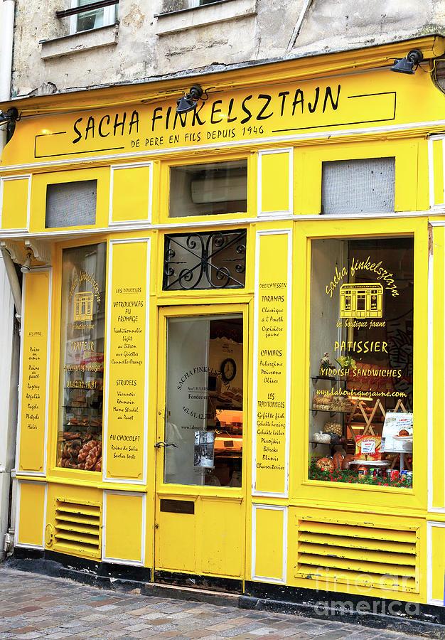Bakery Photograph - Sacha Finkelsztajn Paris by John Rizzuto