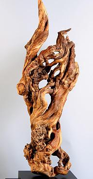 Sachem Sculpture by David Flood